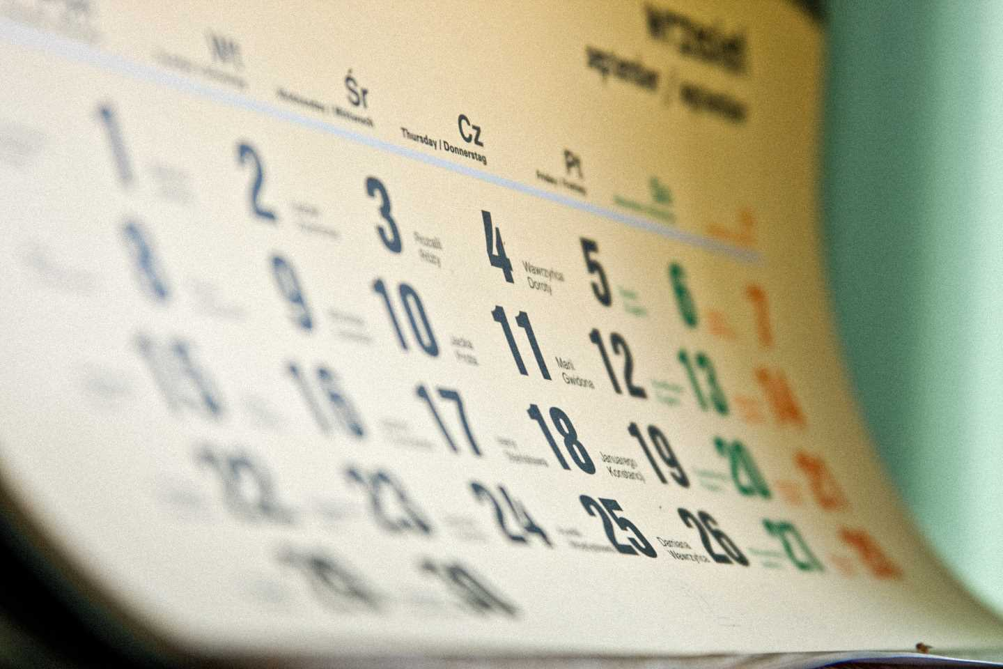 Background Calendar